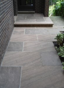 Brown Wave Square Cut Flagstone