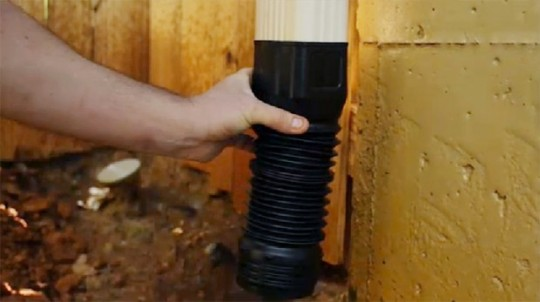 How To Drain A Down Spout Away From The Foundation Adams