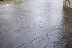 stamped concrete lines