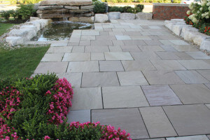 flagstone patio - 4